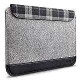 Inateck 13.3インチ超薄型スリーブケース Macbook Air/ MacBook Pro Retina/ウルトラブック/ネットブック用 プロテクターケース 小物収納ポケット付