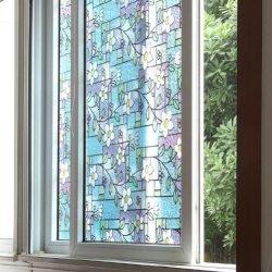 Fancy-Fix Vinyl Adhesive Free Decorative Window Film