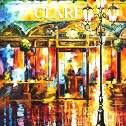 100% Oil Painting Unframed Misty Café Home Decoration Modern Knife Painting On Canvas 30 X 40 In 75 X 100 Cm