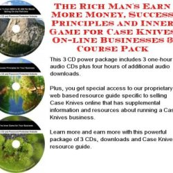 The Incredible Generate Extra Cash, Marketing And Inner Game For Case Knives On-Line Businesses 3 Cd Pack