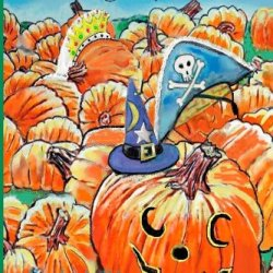The Halloweenies Book Two: A Halloween Paper Craft Book (A Visit To Pawpaw'S) (Volume 10)