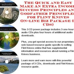 The Down And Dirty Generate Extra Cash, Marketing And Inner Game For Flint Knives On-Line Businesses 3 Cd Pack
