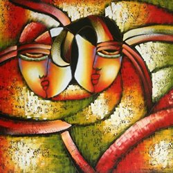 """Oil Painting On Canvas 20X24"""" Abstract Modern Wall Canvas Art A215"""