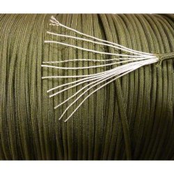 750 Paracord Military Spec Milc-5040H Type 4 (Olive Drab, 50 Feet)