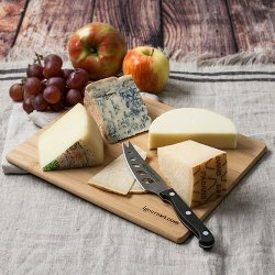Italian Cheese Board Gift Set (30 Ounce) By Igourmet