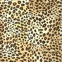 """Leopard Printed Sugar Icing Sheet (Approx 7.5"""" X 10"""") For Cake Decorating - Cut Edible Shapes From The Sugar Icing Sheet With Craft Knife Or Scissors To Stick On Your Cake!"""