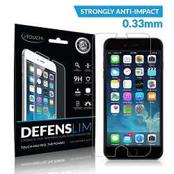 Iphone 6 Plus Tempered Glass Screen Protector - Defenslim Front Cover Accessory For Your Apple Iphone 6 [5.5 Inch] - Hd Clarity - Touchscreen Sensitivity - 9H For Scratch & Shock Resistance - Best Insurance For Your Investment - Lifetime Warranty!