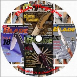 Blade Magazine 1997 - 2008 143 Issues On 2 Disc Set: For The Bladesmith And Knifesmith