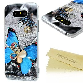 G5-Case-LG-G5-Case-3D-Handmade-Bling-Diamonds-Colorful-Print-with-Glitter-Rhinestone-Gems-Sparkle-Crystal-Clear-Hard-PC-Cover-by-Maviss-Diary