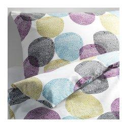 Ikea Malin Rund 3Pc Queen Duvet-Cover 100-Percent Cotton