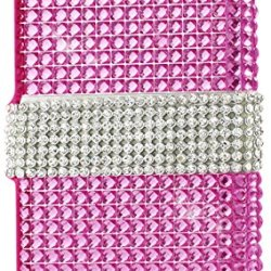 Reiko Iphone 6 4.7-Inch Diamond Flip Case - Retail Packaging - Pink