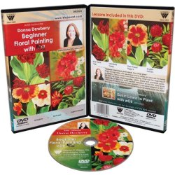 Weber Donna Dewberry Dvd Woil Beginner Floral Painting