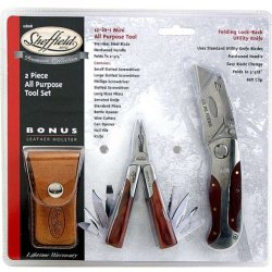 Sheffield 12808 Premium Tool Set, 2-Piece