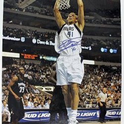 Psa/Dna Mavericks Dirk Nowitzki Signed Authentic 16X20 Photo Autograph - Certified Authentic