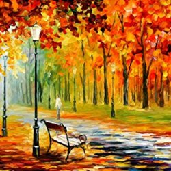 100% Oil Painting Unframed Silence Of The Fall Home Decoration Modern Knife Painting On Canvas 40 X 24 In 100 X 60 Cm