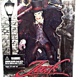 Mezco - Jack The Ripper Action Figure W/Accessories - Closed Mouth/Top Hat Variant (Mature Collectors: 15+)