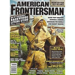 American Frontiersman 3 Pack: Most Recent Issues + Bonus Of National Parks Magazine