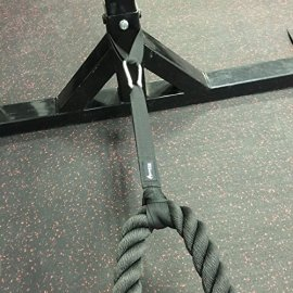 Anchor-Strap-Kit-Pair-for-Battle-Rope-Training-by-Ignite-Fitness-Great-Addition-to-Crossfit-Circuits-Features-Commercial-Grade-Nylon-and-Ultra-Heavy-Duty-Carabiner-Easy-to-Use-Extreme-Durability