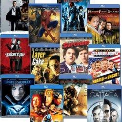 Blu-Ray 12-Pack (Black Hawk Down / Casino Royale / The Fifth Element / Gattaca / Hellboy / House Of Flying Daggers / A Knight'S Tale / Layer Cake / Talladega Nights / Underworld Evolution)