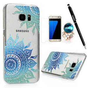 S7-Edge-CaseSamsung-Galaxy-S7-Edge-Case-BADALink-Ultra-thin-Slim-Fit-Colorful-Print-Pattern-Protective-Hard-PC-Cover-with-High-Definition-Screen-Protector-Dust-Plug-Stylus-Pen