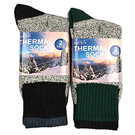 Eco Friendly Recycled Cotton Thermals Boot Socks MANUFACTURE DIRECT SELLER Warm Toes, Thermal Sock, Eco Friendly Recycled Yarns Available Sock Size : Men 10-13 (Shoe Size : Mens 6-12 1/2, Ladies 6 1/2-13) / 9-11 (Shoe Size : Mens 3-9, Ladies 4-10 1/2...