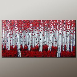 Original Painting Large Painting Oil Painting Modern Art Canvas Art Impasto Texture Palette Knife Oil Painting Impressionism Wall Art Artwork For Home Decor