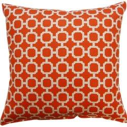 Dakotah Pillow Set, Hockley, Mandarin, Set Of 2