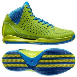 Adidas D Rose 3.0 (Fresh Prince/90S Throwback) (5.5)