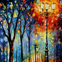 The Fog Of Dreams Oil Paintings Modern Canvas Wall Art Decor For Home Decoration Palette Knife On Canvas 30 X 40 In Unframed