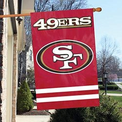 Party Animal Forty Ninersappliquebannerflag
