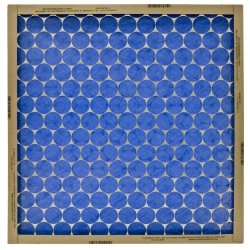 Flanders Precisionaire 10255.011230 12 By 30 By 1 Flat Panel Heavy Duty Spun Glass Air Filter, 12-Pack