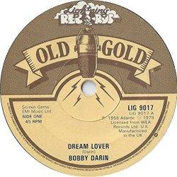 """Dream Lover / Mack The Knife - Bobby Darin 7"""" 45"""