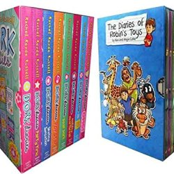 Dork Diaries Rachel Renee Russell Collection & The Diaries Of Robins Toys 18 Books Set (3 1/2:How To Dork Your Diary,Dork Diaries,Party Time,Pop Star,Skating Sensation,Dear Dork,Holiday Heart Breaker,Omg & Roger The Reindeer,Geraldo The.....)