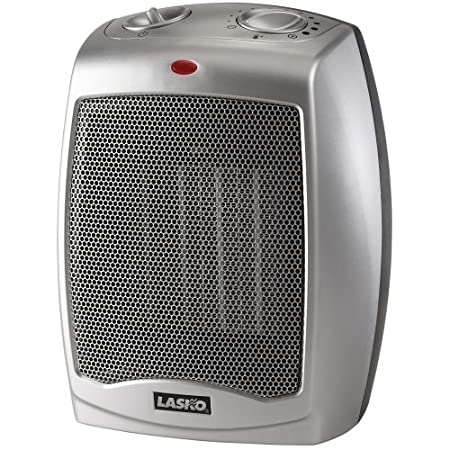 Lasko's #754200 heater offers powerful heat in a small package suitable for under a desk or even table-top.
