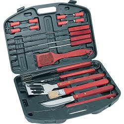Kitchenworthy 18 Piece Deluxe Bbq Tool Set Kitchenworthy 18 Piece Deluxe Bbq Tool Set