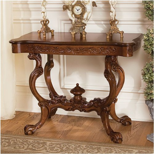 Buy Foyer Furniture : Buy low price antique replica hand carved console hall