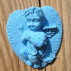 Silicone 3D Angel Baby Cake Mold Fondant Sugar Mould
