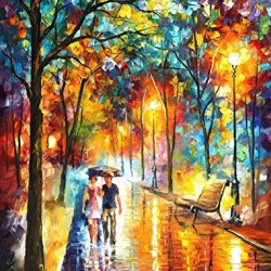 Palette Knife Painting Canvas For Home Decoration,Inside The Dream Wall Art 15X20In 37.5X50Cm Unframed