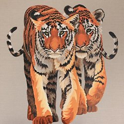 Tiger Modern Canvas Art Wall Decor Animal Painting Print On Canvas Wall Art 21X30In Unframed
