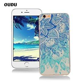 OuDu-Cover-iPhone-66S-47-pollici-Custodia-TPU-Silicone-Cassa-Gomma-Soft-Silicone-Case-Bumper-Custodia-Morbida-Cover-Ultra-Sottile-Leggero-Custodia-Flessibile-Liscio-Caso-Anti-Graffio-Anti-Scossa-Anti-