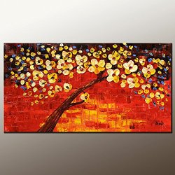 Original Painting Oil Painting Modern Art Canvas Art Impasto Texture Palette Knife Impressionism Wall Art Fine Art