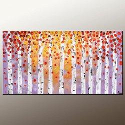 Large Painting Original Painting Oil Painting Modern Art Canvas Art Impasto Texture Palette Knife Artwork Impressionism Wall Art