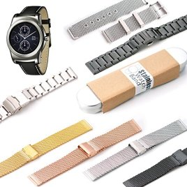 KR-NET-Stainless-Steel-Strap-Metal-Band-for-LG-G-Watch-R-W110-Urbane-W150-Screen-Protector-Tools