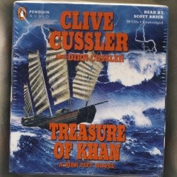 By Clive Cussler, Dirk Cussler: Treasure Of Khan (Dirk Pitt) [Audiobook]