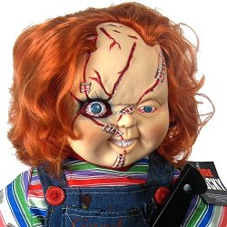 "Bride Of Chucky Collector'S Memorabilia: 26"" Child'S Play Chucky Doll & Stand"