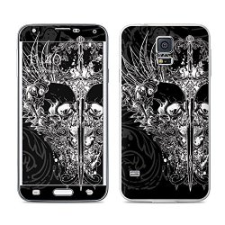Darkside Design Protective Decal Skin Sticker For Samsung Galaxy S5 Sm-G900 Smartphone (High Gloss)