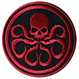 Captain America HYDRA/Red Skull RED Embroidered Movie Patch