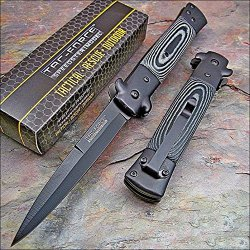 Tac-Force Black Micarta Knife Brand New!
