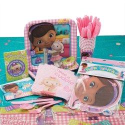 Doc Mcstuffins Party Supply Bundle - Party Supplies - 110 Items Per Pack