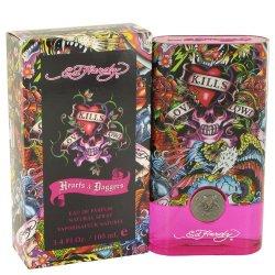 Ed Hardy Hearts & Daggers By Christian Audigier Women'S Eau De Parfum Spray 3.4 Oz - 100% Authentic